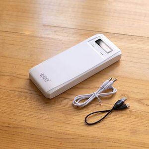 Image 3 - QD188 PD çift USB QC 3.0 + tip C PD DC çıkışı 8x18650 piller DIY güç bankası kutu tutucu kılıf cep telefonu için hızlı şarj