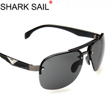 SHARK SAIL Sunglasses Man Will Frame Sun Glasses Men and Womens Defence Ultraviolet Rays Gafas De Sol UV400