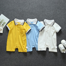 Summer baby clothes for boys girls outfits sports jumpsuit s