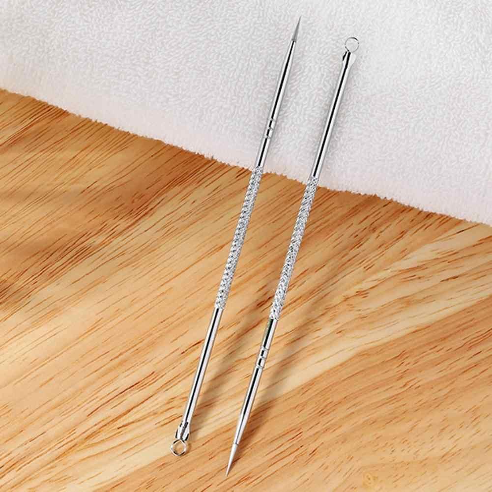 1PC Argento Comedone Acne Needle Blemish Remover Extractor Inox Aghi Rimuovere Strumenti di Rimozione di Comedone