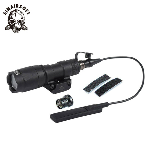 sinairsoft elemento tatico m300 m300a scout gun luz rifle caca lanterna 400 lumen arma luz