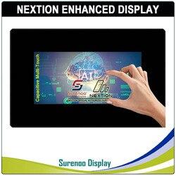 7,0 Nextion Enhanced HMI USART серийный TFT lcd модуль Дисплей резистивная емкостная сенсорная панель с корпусом для Arduino RPI