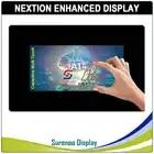 7,0 Nextion Enhanced HMI USART серийный TFT lcd модуль Дисплей резистивная емкостная сенсорная панель с корпусом для Arduino RPI - 1