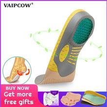 Plantillas ortésicas ortopédicas de PVC, almohadilla de suela plana para la salud del pie para insertar zapatos, almohadilla de apoyo para arco para el cuidado de los pies fascitis plantar