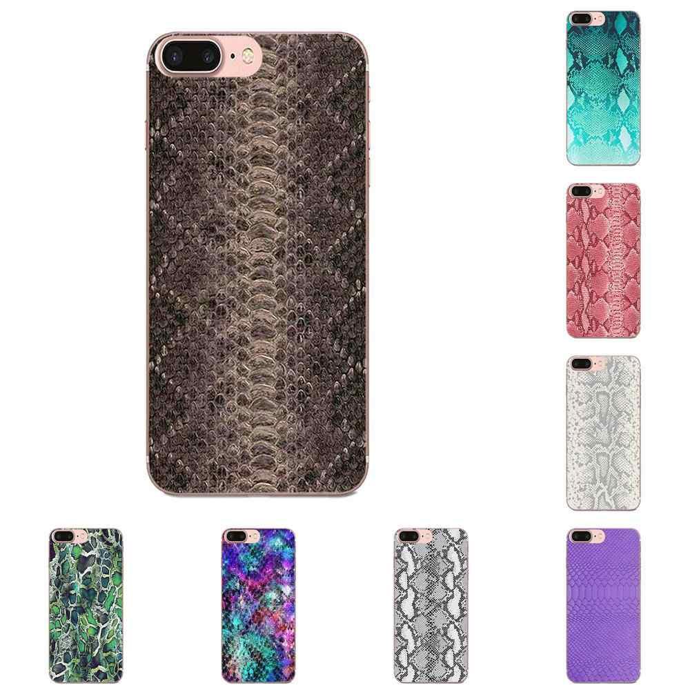 Змеиная кожа для Apple iPhone 4 4s 5 5C 5S SE 6 6S 7 8 11 Plus Pro X XS Max XR мобильные чехлы