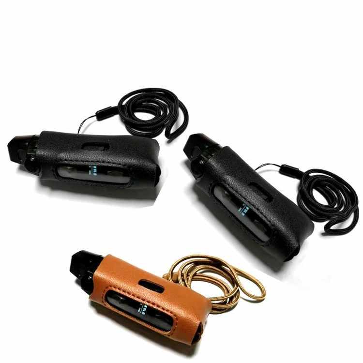 革ケース GEEKVAPE ためイージスブーストポッド mod キット蒸気を吸う保護カバースキンスリーブラップでストラップ