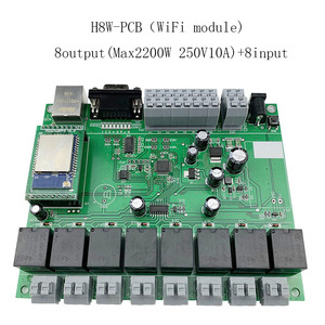 Image 4 - Kincony 4 8 16 32 Gang Industrial Level Smart Home Automation Module Controller System 250V10A WiFi/Ethernet Remote Control PCB