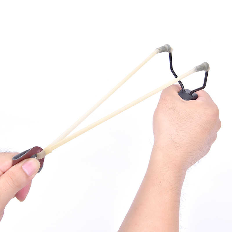 EDC Outdoor Tool Elastic Slingshot Elastica Rubber Band for Slingshots Catapult Hunting Kids Fun Gift