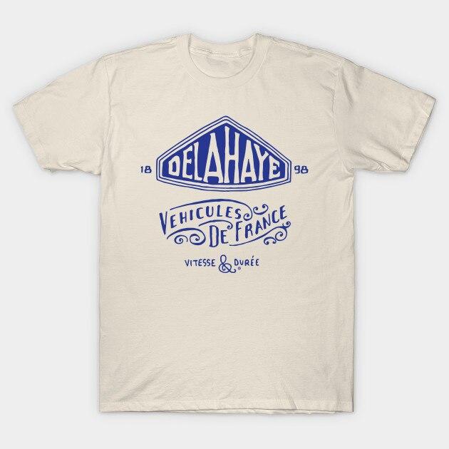 Men T-shirt Delahaye Tshirt Women T Shirt
