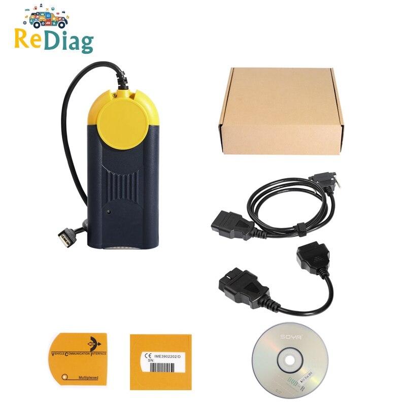 2020 Diagnose werkzeug Multi-Diag Multi Diag Zugang J2534 v 2018,3 interface OBD2 Gerät Multidiag J2534 mit Kostenloser Versand