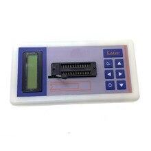 Taşınabilir entegre devre test aleti IC tester transistör test cihazı çevrimiçi bakım dijital LED ic tester