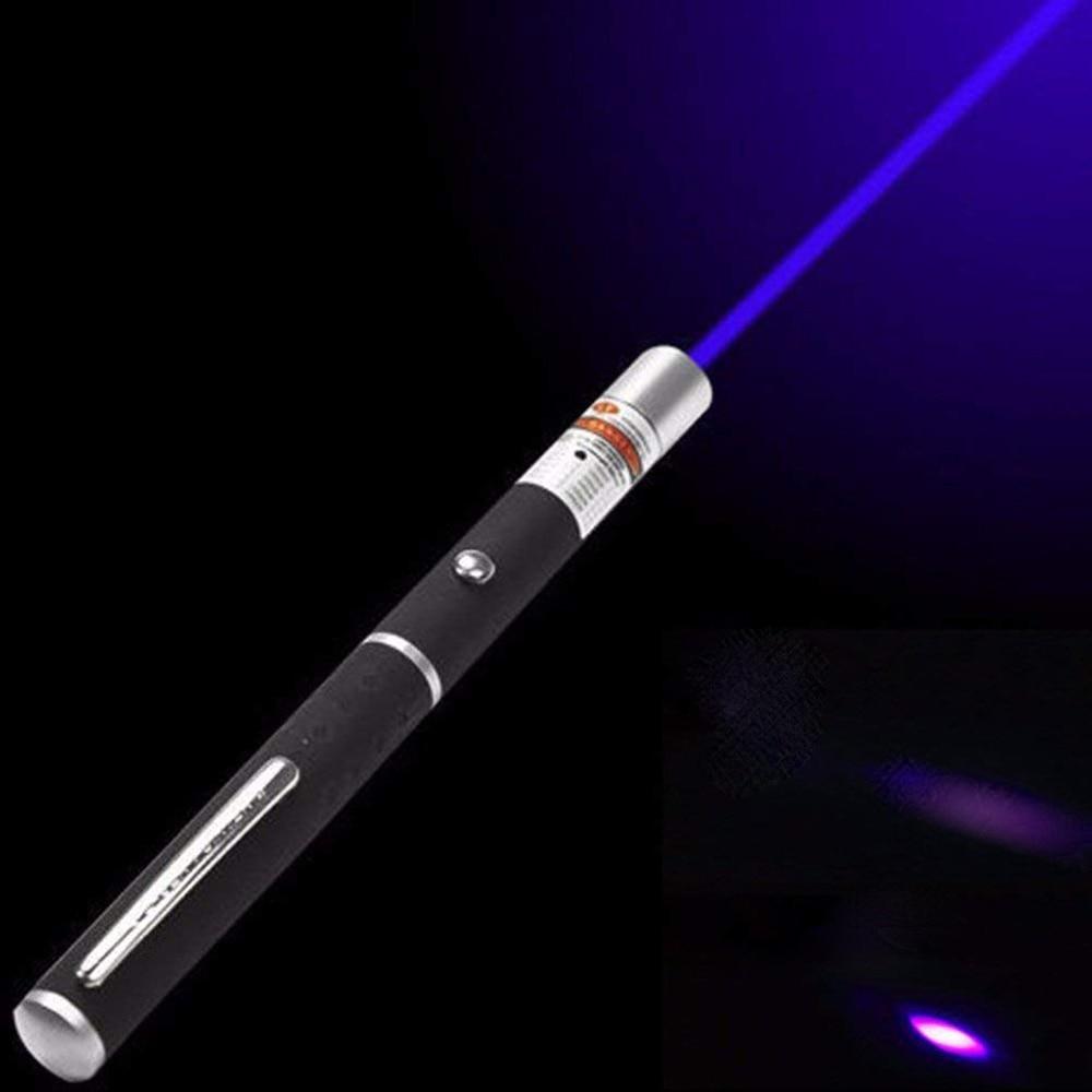 레이저 시력 포인터 5MW 높은 전력 녹색 파란색 빨간색 점 레이저 빛 펜 강력한 레이저 미터 405Nm 530Nm 650Nm 녹색 Lazer