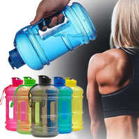 Portable 2.2L Large Capacity Water Bottles Outdoor Sports Gym Training Camping Running Workout Water Fitness Bottle