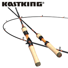 KastKing Zephyr Bait Finesse System UL Spinning Casting Fishing Rod Carbon Fiber 2 Pieces 1.53-1.68m 1-8g for Trout Fishing