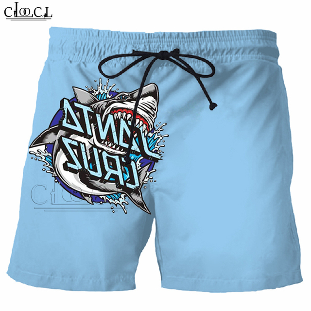 2019 Summer Newest Men Shorts 3D Printed Santa Cruz Shaka Hand Unisex Casual Hot Sale Shorts Street Style Tops B8