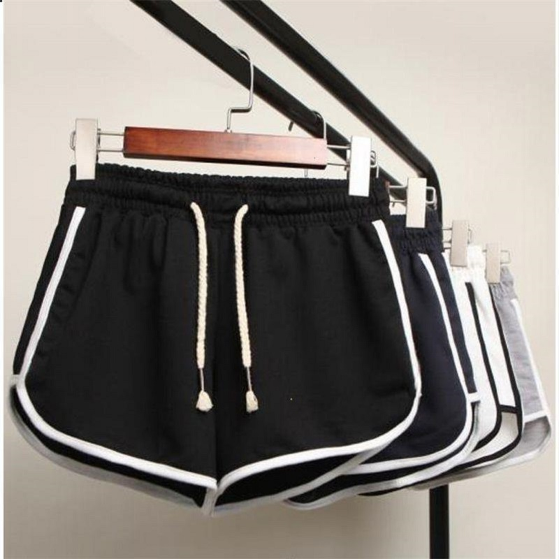 Casual Summer Short Women High Waists Shorts For Ladies Fashion Sexy Girl Black Shorts For Femme Loose Cool Short S-3XL