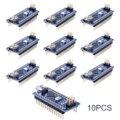 10pcs Mini Nano V3.0 Atmega328p 5v 16m Micro Controller Board Module For Arduino