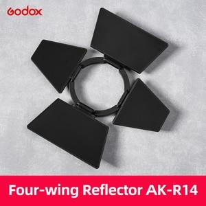 Image 5 - Godox AK R1 + S R1 Barn Door, Snoot, Color Filter, Reflector, Honeycomb, Diffuser Ball Kits for Godox AD200 H200R V1 Flash Head