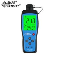 כף יד חמצן גז Analyzer O2 גלאי Tester Meter מקורה אוויר באיכות צג טמפרטורת מדחום מעורר 0 30% AR8100