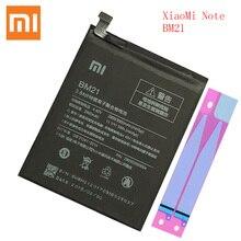 100% original xiaomi bm 21 nota bateria bm21 bm21 3gb ram bateria de polímero lítio bateria 3000mah bm21