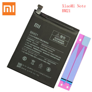 Image 1 - 100% orijinal Xiaomi BM 21 not pil BM21 bm21 3GB RAM lityum polimer Bateria Bateria 3000mAh bm21 pil