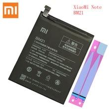 100% オリジナルxiaomi bm 21注意BM21 bm21 3 1gbのramリチウムポリマーbateria bateria 3000 2600mah bm21バッテリー