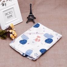 100% Cotton Swaddle Towel Soft Muslin Baby Swaddling Blanket Newborn Infant #H055#