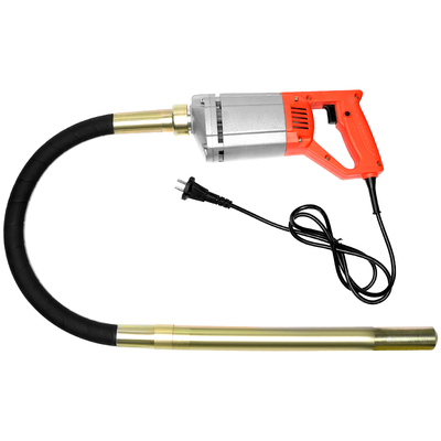 220V Hand-held Concrete Vibrator 1-4M Vibrating Spear Industrial Portable Plug-in Vibrator Concrete Vibrator