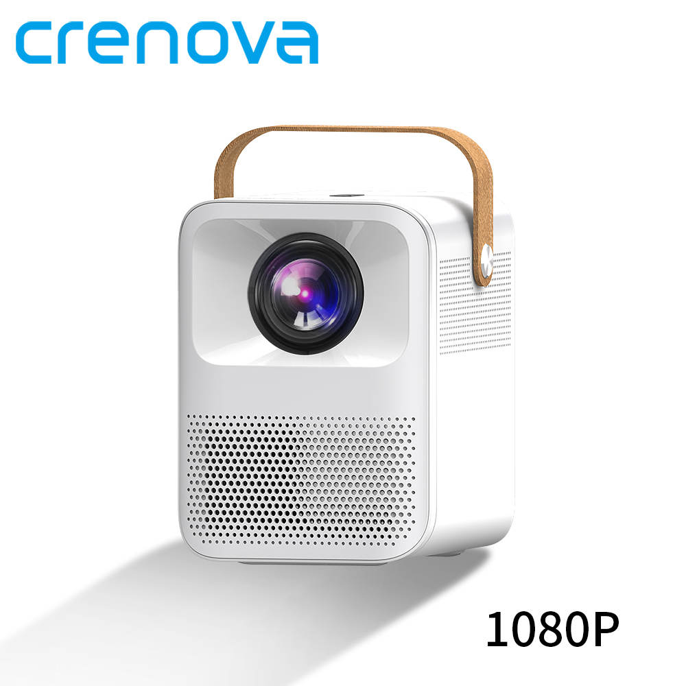 CRENOVA Portable Projector ET30S 1080P Full HD Android Wifi 3D Mini Porjector Home Cinema Support 4K LED Home Video Projector