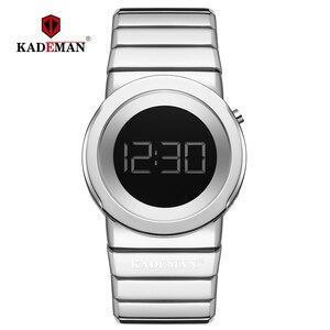 Image 1 - 2020 Kademan Mode Vrouwen Luxe Rvs Quartz Horloges Dames Business Horloge Japanse Quartz Relogio Feminino