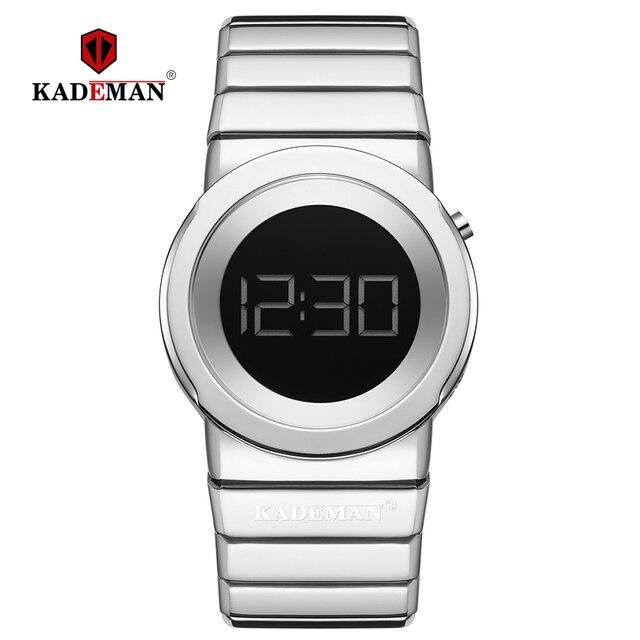 2020 Kademan Mode Vrouwen Luxe Rvs Quartz Horloges Dames Business Horloge Japanse Quartz Relogio Feminino