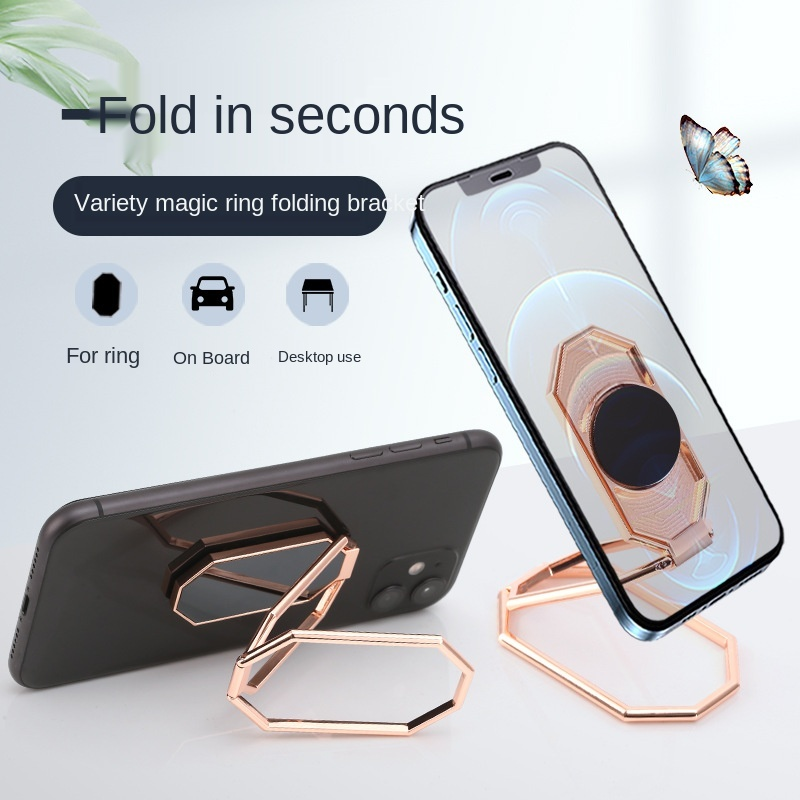 Universal mobile phone holder adjustable rotating mobile phone lazy stand portable desktop stand smart phone stand Fixed frame