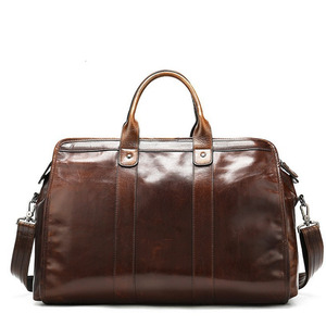 Image 2 - High Quality Classic Laptops Briefcase Genuine Natural Leather Bags Mens Travel 15.6 Inch Bag Man Business Bag For Macbook Pro