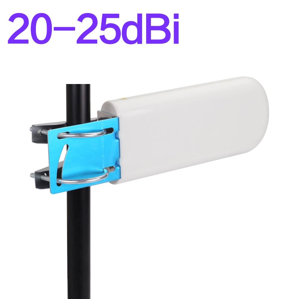 20-25 DBi Gain Outdoor Antenna WORK For 2g 3g 4g Cellphone Signal Repeater 698-2700 MHz Directional Antenna 4G External Antenna