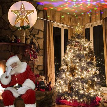 Projection Star Christmas Tree Topper 3
