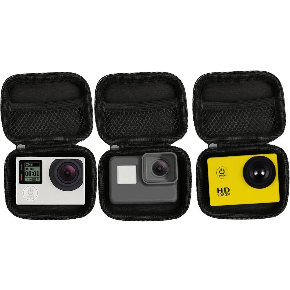 Portable Mini Box Xiaoyi Bag Sport Camera waterproof Case For XiaoYi 4K Gopro Hero 9 8 7 6 5 4 SJCAM Sj4000 EKEN H9 Accessories 5