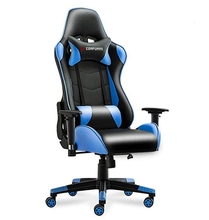 Gaming Chair Executive Office Chair Reclining High-Back Ergonomic PU Leather Desk Chair Racing Swivel Computer цены онлайн
