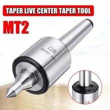MT2 0.001 Accuracy 5000 Rpm Max Steel Lathe Live Center Taper Tool Triple Bearing CNC Live Revolving Milling Center Taper Machin