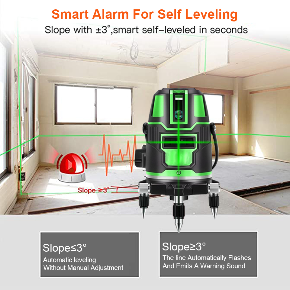 Leveling Leveling 3 Laser Vertical Cross Device Lines Laser Green Box Level Tools Horizontal And 360 5 2 Dropshipping Self With