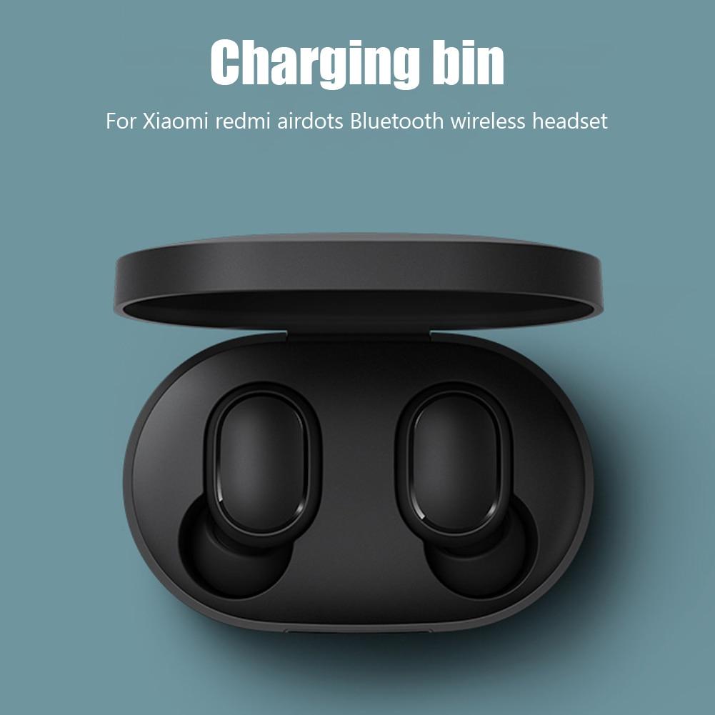 Беспроводные Bluetooth наушники, стереогарнитура, игровые наушники, спортивные наушники вкладыши с зарядным устройством для Xiaomi Redmi AirDots, наушники|Наушники и гарнитуры| | АлиЭкспресс