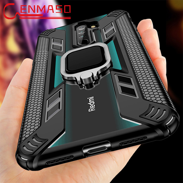 Per la Nota Redmi 9S 8 Pro Caso per Caso Xiaomi Redmi Nota 7 8T K20 K30 Magnetica Supporto per Auto per il caso di Xiaomi Mi Nota 10 PRo 9T 8 A3 Lite 1