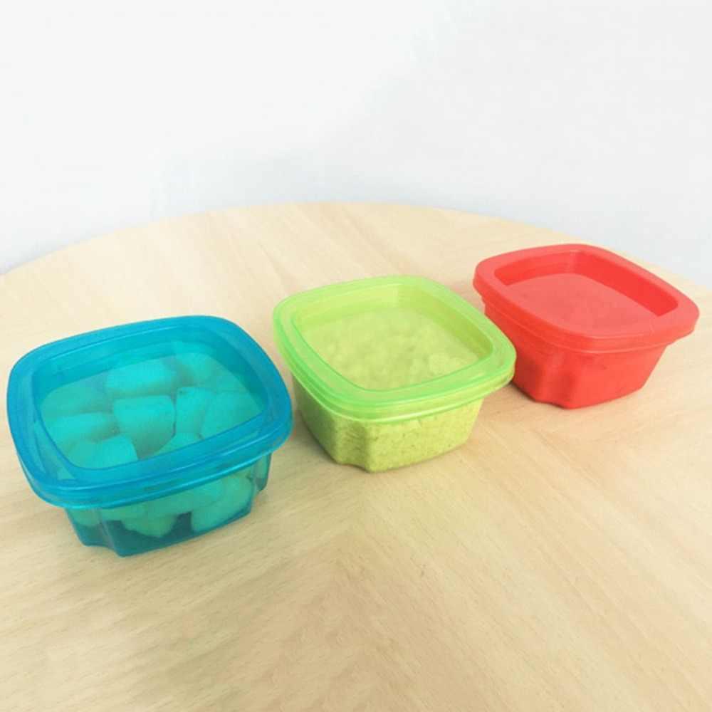 Keuken Afdichting Doos Voedsel Vers Houden Snack Container Vruchten Opbergdoos PP Bescherming Mini Draagbare Kleine Verse Doos Verzegeld doos