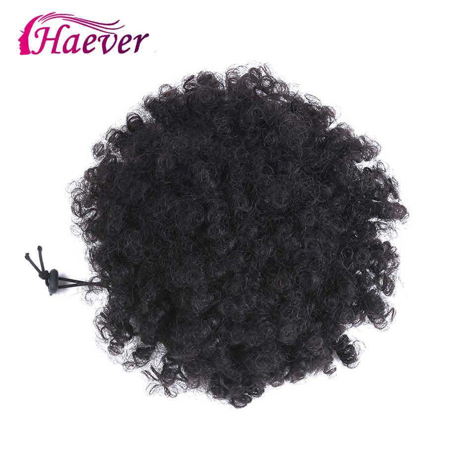 Haever Hair paquetes rectos con cierre brasileño cabello tejido 3/4 paquetes con cierre 13x4 Color Natural cabello Remy extensión