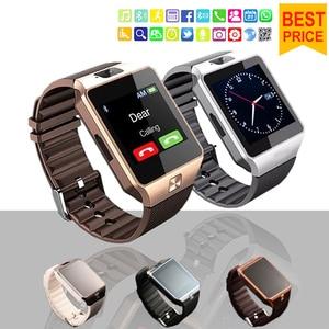 Умные часы DZ09 с поддержкой Bluetooth, наручные часы, часы для телефона, 2G, SIM, TF карта, для Iphone, Samsung, смартфонов на Android, умные часы