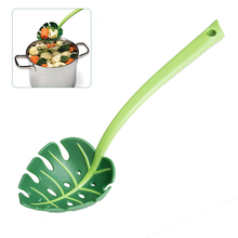 1pcs Multi-functional Creative Colander Leaf-shaped Strainers Noodles Forks Cooking Shovels Pasta Filter Spoon Kitchen Tool cheap Eco-Friendly Other CE EU