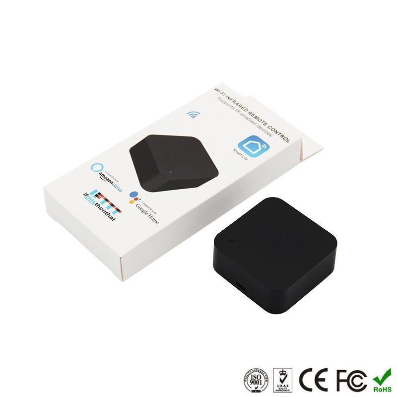H0d23e5e7d9724ee98a81380bdb74fe22d - Mini Smart Home Automation WIFI IR Remote Control Intelligent Universal 2.4GHz WIFI IR Remote for Alexa Echo Google Home