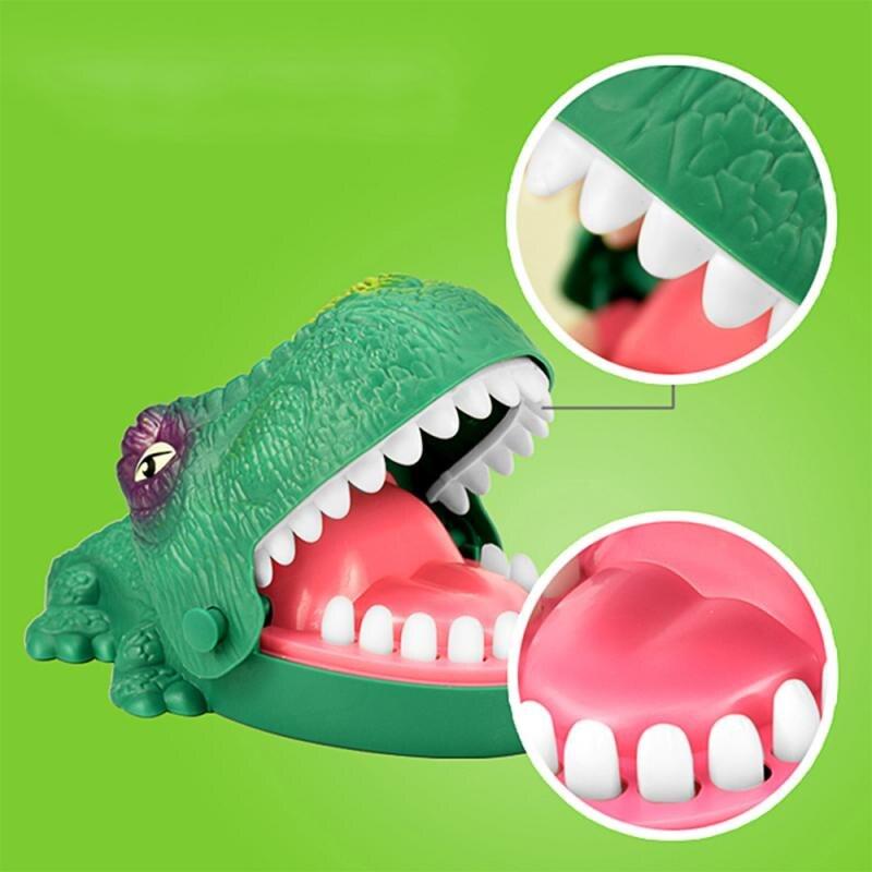 Engraçado jogo de tabuleiro brinquedo de crocodilo