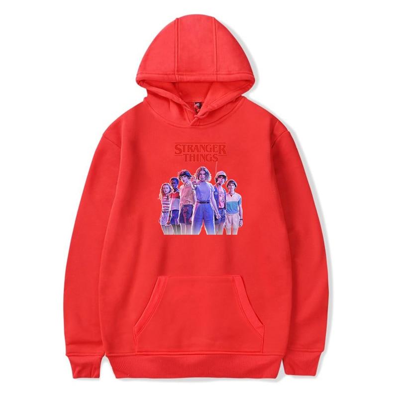 Stranger Things Hoodie New Fashion Women Winter Autumn  Pullover Sweatshirt Oversized Hoodie Harajuku Hip Hop Streetwear