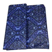 2019 New Ankara Goth Fantasy Print Nigeria Guaranteed Dutch Batik Fabric Textiles For Party Dress Sewing Material 5 Yards