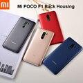 Пластиковая Задняя крышка аккумулятора Xiaomi POCOPHONE F1, задняя крышка корпуса, панель корпуса для Pocophone Poco F1, Запасная часть